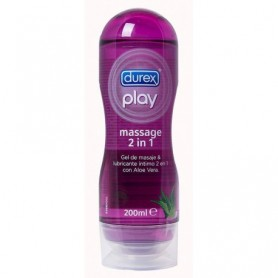 Durex play massage con aloe vera 200 ml