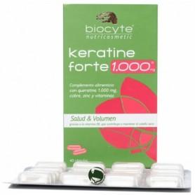 Biocyte keratine forte 1000 mg 40 capsulas