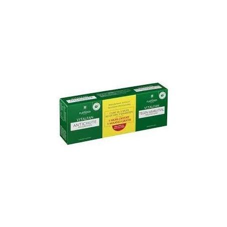 Rene furterer pack vitalfan progresiva 3 cajas de 30 capsulas.