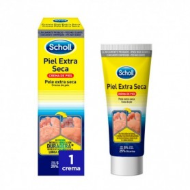 Scholl crema piel extra seca 1 envase 75 ml