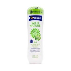 Control wild nature 3 in 1 gel de masaje hidratante 200 ml