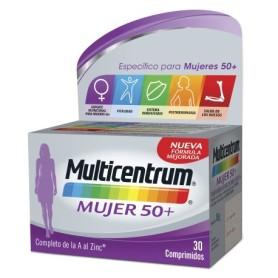 Multicentrum mujer 50+ 30 comp