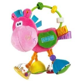 Playgro mordedor actividades clopette rosa 3m+