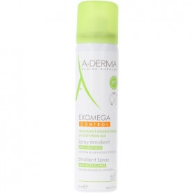 A-derma exomega control spray emoliente anti-rascado 1 envase 50 ml