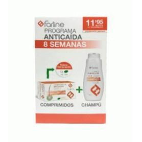 Farline pack anticaida locion + comp