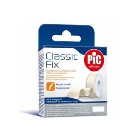 Pic classic fix esparadrapo tejido blanco 2,5 x 5 cm