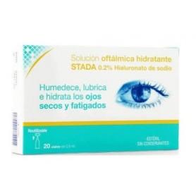 Care+ solución oftalmológica hidratante 20 uds x 0,5ml