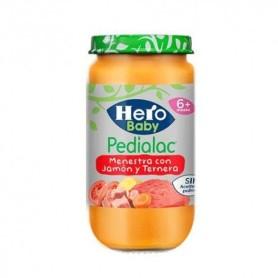 Hero baby pedialac sin guiso de verduras con ternera y jamón 250gr