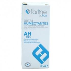 Farline gotas humectantes ácido hialuronico 0,2% 15ml