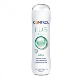 Control lub gel lubricante aloe 75ml